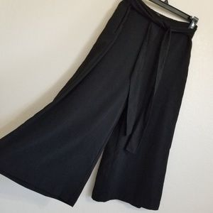 Zara Trafaluc Wide Culottes Cropped Pants S